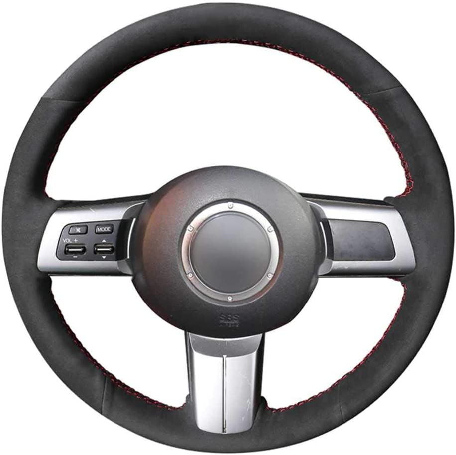ZHHRHC Fashionable Car Steering Wheel Cover Fit New product! New type Miata Mazda for MX-5 2009-20