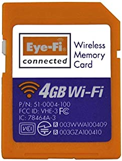 Eye-Fi Connect X2 4 GB Class 6 SDHC SD Flash Memory Card, discontinued by manufacturer, works only as SD card [並行輸入品]