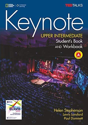 Keynote - B2.1/B2.2: Upper Intermediate: Student's Book and Workbook (Combo Split Edition A) + DVD-ROM - Unit 1-6