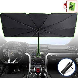 Foldable Car Sunshade Windshield Umbrella, Front Window Sun Shade Screen, Windows Protector Shield Shades, Retractable Sun...