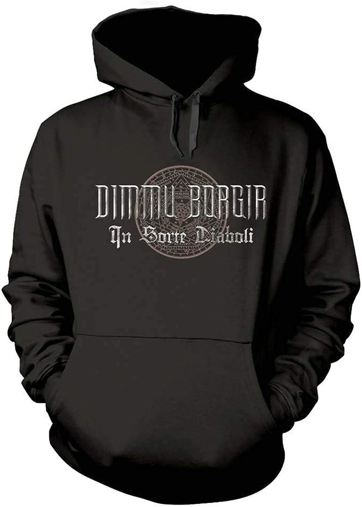 Outlet sale feature Dimmu Borgir Men's Goat Black Hooded Sweatshirt Special price