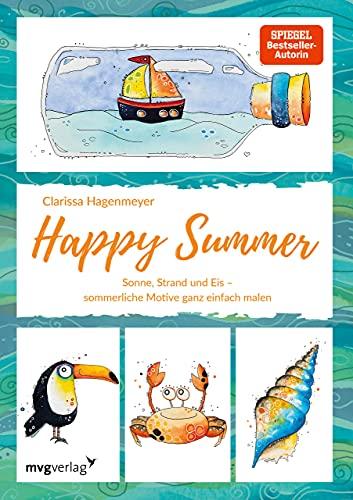 Happy Summer: Sonne, Strand und Eis – sommerliche Motive ganz einfach malen