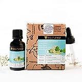 Soulflower Tea Tree Essential Oil, Pure, Undiluted, Natural & Safe, BONUS Glass Dropper,1 fl.oz