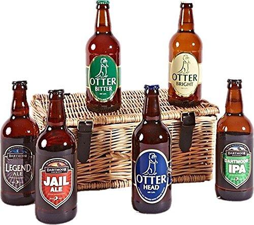 Six Devon Ales Hamper - Standard Box