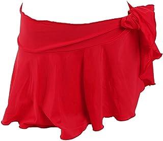 ホンコンマダム 水着 ミニ丈 シンプル巻き スカート q1933