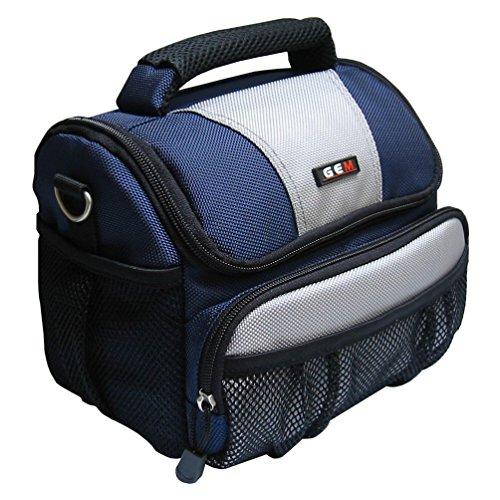 GEM GEM1013FFPHS10 Caja compacta Gris, Negro, Azul Estuche para cámara fotográfica - Funda (Caja compacta, Fujifilm, FinePix HS10, Gris, Negro, Azul)