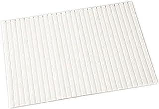 アイリスオーヤマ 風呂ふた 防カビ・はっ水 シャッター式 約70×80cm パールホワイト HFG-7008