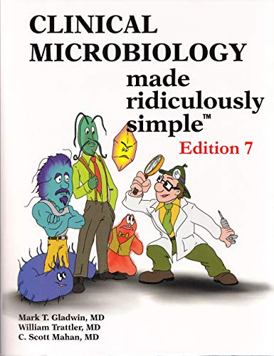 Compare Textbook Prices for Clinical Microbiology Made Ridiculously Simple 7 Edition ISBN 9781935660330 by Gladwin, Mark T.