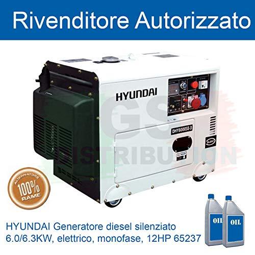 Generator Diesel Hyundai DHY8000SE