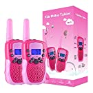 Selieve Toys for 3-12 Year Old Girls, Walkie Talkies for Kids 22 Channels 2 Way Radio Toy with Backlit LCD Flashlight, 3 Miles Range for Outside, Camping, Hiking