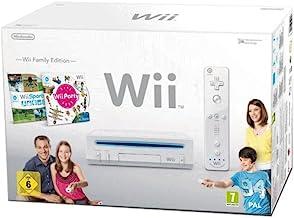 "Nintendo Wii ""Family Edition"" – Konsole inkl. Wii Sports + Wii Party, weiß"