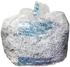 GBC Poly Shredder Bag - 40 gal - 100/Carton - Poly - Clear