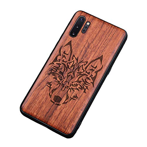 Homi2019 Wooden Case Compatible with Samsung Galaxy S20 Ultra Case Wood Grain Outside Soft TPU Silicone Hybrid Slim Rubber Cushion Shock Absorption Flexible Bumper Protective Case Cover