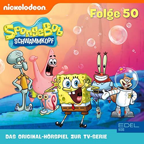 SpongeBob Schwammkopf 50 - Jubiläumsedition. Das Original-Hörspiel zur TV-Serie Titelbild