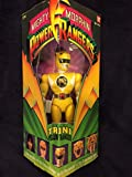 Power Rangers Original Mighty Morphin Trini Yellow Ranger 8' Action Figure (1993 Bandai)