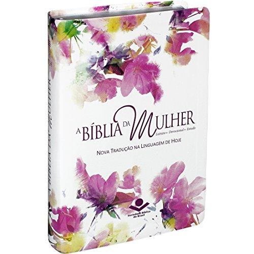 A Bíblia da Mulher com índice - Capa Aquarelada: Nova Tradução na Linguagem de Hoje