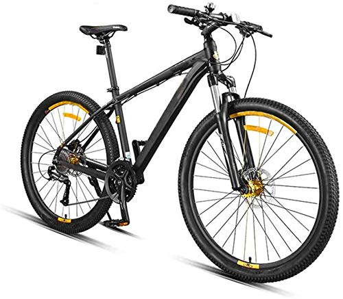Leifeng Tower High-speed 27.5 Inch 27-Speed Mountain Bikes, Mountain Bikes Bicycles Alloy Stronger Frame Disc Brake, Mens Women Adult All Terrain Mountain Bike