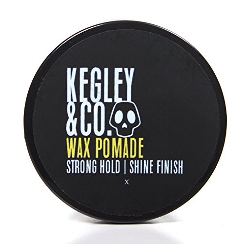 Hair Wax Pomade – Hair Styling Product for Men – Firm Hold & High Shine – Kegley & Co. (2.3 oz)