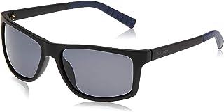 نظارة شمسية للرجال باطار مستطيل من نوتيكا، بلون غير لامع