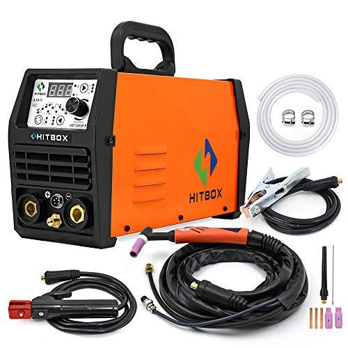 HITBOX 220V 180A Soldador TIG Inversor de impulsos IGBT Stick...