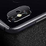 CVBF Parte de repuesto para cámara trasera 0,3 milímetros 2.5D transparente cámara trasera protección del objetivo cristal templado película para Motorola Moto P30 Nota