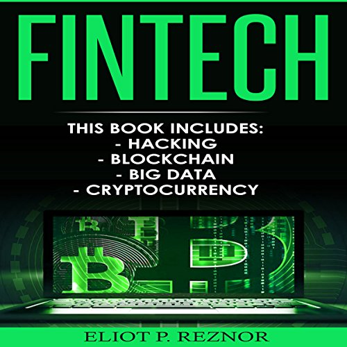Fintech: Hacking, Blockchain, Big Data, Cryptocurrency audiobook cover art