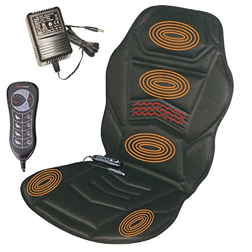 Sentik Heated Back Seat Massager Cushion For Chair Car Massage Home Relax Van