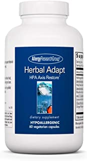 Sponsored Ad - Allergy Research Group - Herbal Adapt - HPA Axis, Ashwagandha, Mood, Stress, Adrenal - 60 Vegetarian Capsules