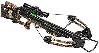 TenPoint C13019-6622 Stealth SS Crossbow with (3) Pro Elite Carbon Arrows, Black Finish