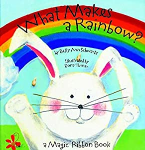 What Makes a Rainbow?' is an fun and colorful way to teach your young one about colors This whimsical book was written by Betty Ann Schwartz, and illustrated by Dona Turner The sturdy book measures 7-1/4'' x 6-1/2'' Manufactured by Bendon Publishing ...