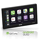 Sound Storm DD988ACP Apple CarPlay Android Auto Car Multimedia Player - Double-Din, 6.75 Inch LCD Touchscreen,...