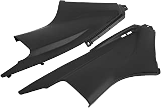 BiuZi Cover Fairing 1 Pair Black Motorbike Air Dust Cover Fairing Insert Part for YZFR6 YZF-R6 2003-2005