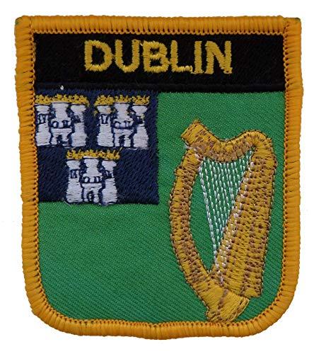 1000 Flaggen Dublin Irland Schild Bestickt Patch Badge