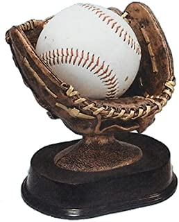 Baseball Holder Trophy with 3 lines of custom text