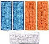 NICERE Accesorios de repuesto para aspiradora Proscenic 800T 10 paños de fregona (color 12 piezas) (5 piezas)