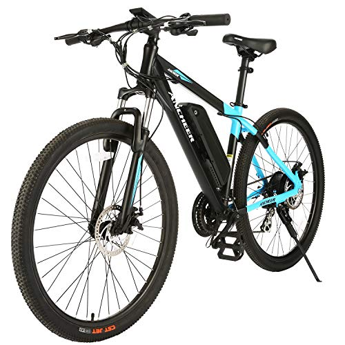 ANCHEER 350W Electric Bike 26/27.5'' Adults Electric Bicycle/Electric Mountain Bike, 20MPH Ebike...