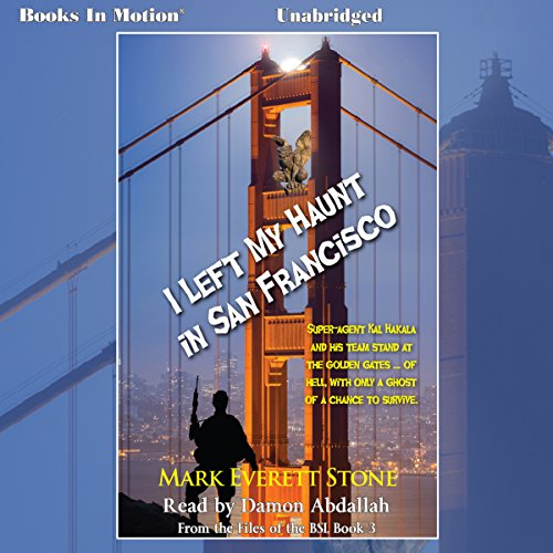 I Left My Haunt in San Francisco audiobook cover art