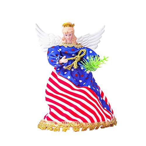 Patriotische Gnome 4. Juli Gnome Dekorationen Urlaub Tomte handgemachte Plüsch Veterana Tag Geschenk Herbst schwedische Elf Ornament Dekor