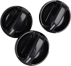 Set of 3 AC Climate Control Knob for Toyota Tundra 2000, 2001 2002 2003 2004 2005 2006 Air Conditioner Heater Control Switch Knob Air Conditioner Switch AC Fan Switch 55905-0C010 559050C010