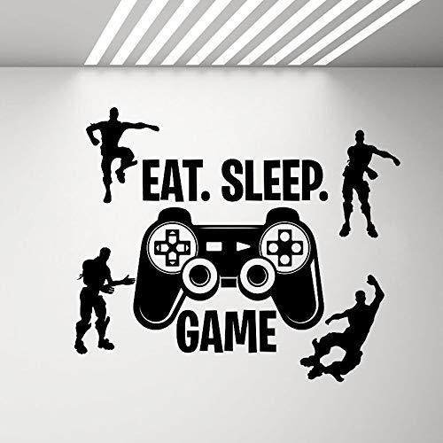 Video juego pared calcomanía personaje vinilo pared pegatina dormitorio decoración del hogar sala de estar quitar etiqueta de la pared