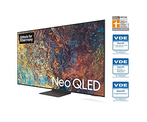 Samsung Neo QLED 4K TV QN95A 55 Zoll (GQ55QN95AATXZG), Quantum HDR 2000, Quantum Matrix Technologie, One Cable Solution [2021]
