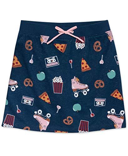 Calvin Klein Big Girls' Athleisure Skirt, Poseidon Ruffle, S7