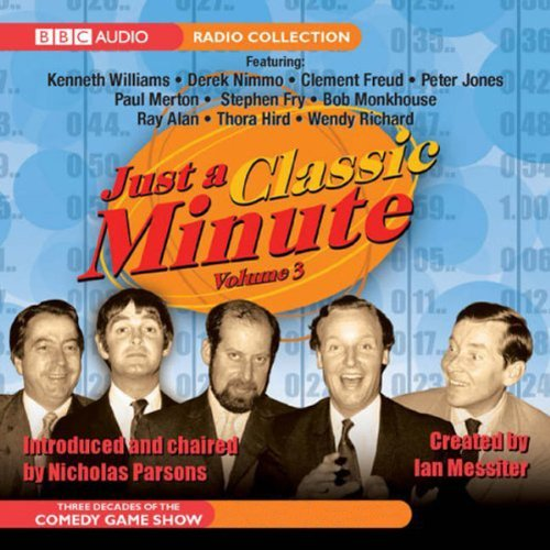 Just a Classic Minute audiobook cover art