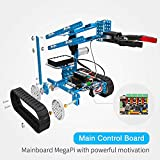 Makeblock mBot Ultimate Robot Kit - Premium Quality - 10-in-1 Robot - STEM Education - Arduino - Scratch 2.0 - Programmable Robot Kit for Kids to Learn Coding, Robotics and Electronics