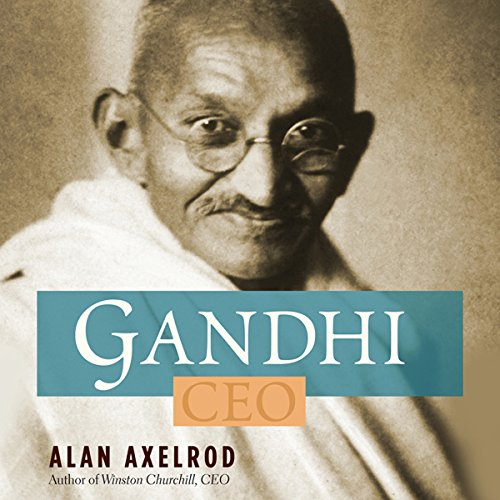 Gandhi CEO audiobook cover art