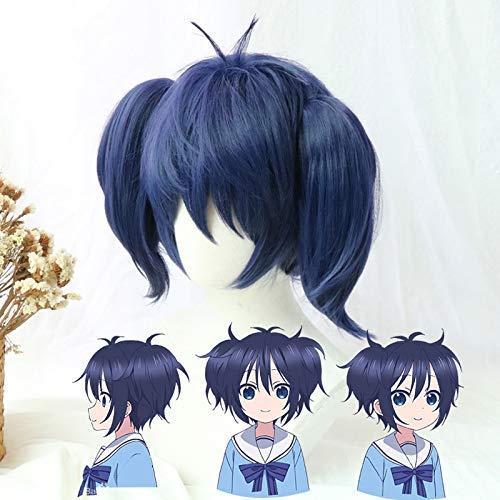 Seupeak Happy Sugar Life Cosplay Wig Shio Kobe Wigs Heat Resistant Synthetic Hair Perucas Cosplay Wig+Wig Cap
