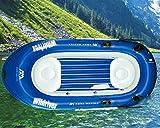 DEKO VERTRIEB BAYERN XXL Deluxe Schlauchboot inkl. Motor Set Angelboot Motorboot Sportboot Ruderboot