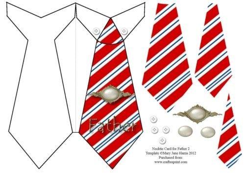 Carte Cravate pour Père 2 par Mary Jane Harris