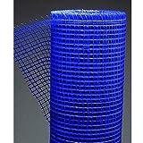 Malla para Revocos Mortero Azul Rollo 1 mt x 50 mts luz de 10x10