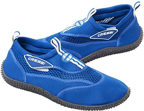Cressi Reef Zapatillas Chanclas, Unisex Adulto, Azul Real, 41